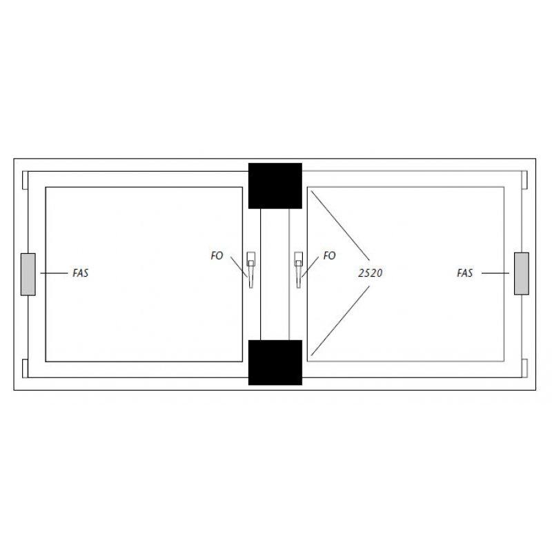 abus 2520 zusatzschloss doppelfl gelfenster wei fenster sicherung 43 99 abus si. Black Bedroom Furniture Sets. Home Design Ideas