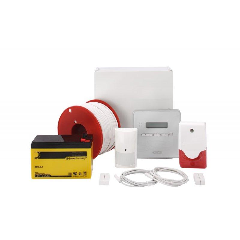 abus az4298 terxon sx alarmanlage starterset mit sirene melder kabel 265 99 abus sicherheit. Black Bedroom Furniture Sets. Home Design Ideas