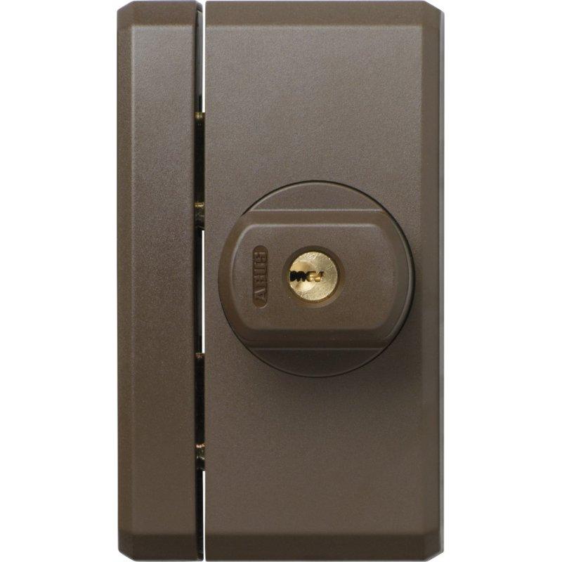 abus fts96 b braun vds stabiles fenster zusatzschloss fts 96 63 99 abus sicherheitstechnik. Black Bedroom Furniture Sets. Home Design Ideas