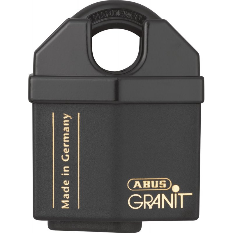 ABUS Granit plus 37/60 Vorhangschloss spezialgehärtet verschiedenschliessend