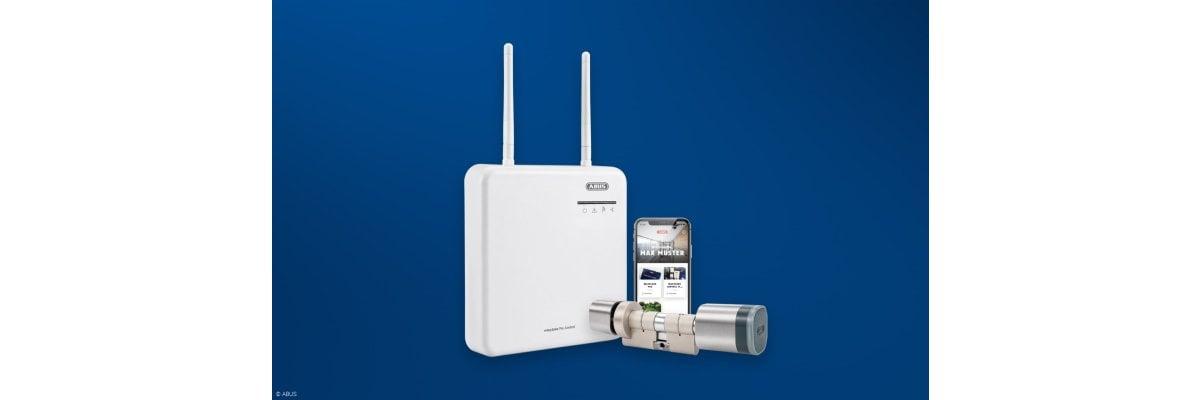 ABUS wAppLoxx Pro – EINFACH. ZUTRITT. ORGANISIEREN. - ABUS  wAppLoxx Pro Zutrittskontrolle   Elektronische Schließsysteme