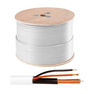 ABUS KA9000 Video-Kombi-Kabel RG59 250m Trommel Strom und Videosignal