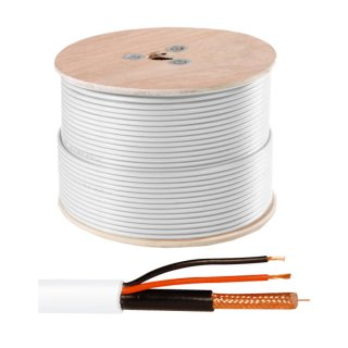 ABUS KA9002 Video-Kombi-Kabel RG59 50m Strom und Videosignal CCTV