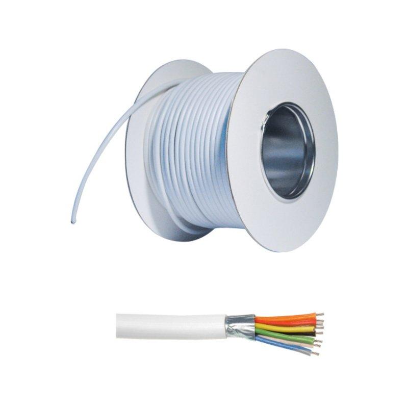 ABUS AZ6361 Alarmkabel 100m für Alarmanlagen Kabel 8-adrig