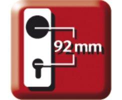 ABUS THZ90 Rechts Einsteckschloss PZ Haustür Wohnungstür für Profilzylinder