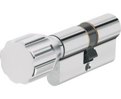 ABUS ECK550 Knaufzylinder Z30/K55 mm Wendeschlüssel mit 3 Schlüssel