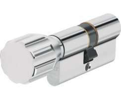 ABUS ECK550 Knaufzylinder Z30/K60 mm Wendeschlüssel mit 3 Schlüssel