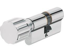 ABUS ECK550 Knaufzylinder Z30/K80 mm Wendeschlüssel mit 3 Schlüssel