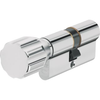 ABUS ECK550 Knaufzylinder Z40/K45 mm Wendeschlüssel mit 3 Schlüssel