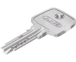 ABUS ECK550 Knaufzylinder Z45/K60 mm Wendeschlüssel mit 3 Schlüssel