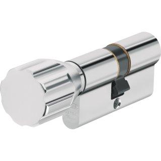ABUS ECK550 Knaufzylinder Z80/K30 mm Wendeschlüssel mit 3 Schlüssel