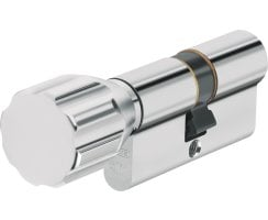 ABUS ECK550 Knaufzylinder Wendeschlüssel Z30/K90 mm gleichschließend