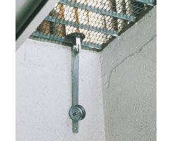 ABUS GS20 Set Gitterrostsicherung für gemauerte Lichtschächte GS 20