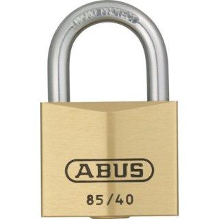 ABUS 85/40 Vorhangschloss aus massivem Messing verschiedenschliessend