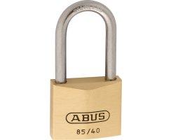 ABUS 85IB/40HB40 Vorhangschloss aus massivem Messing...