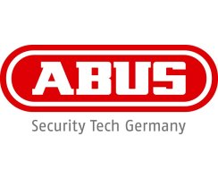 ABUS PA1018 Befestigung Set schwarz Panzerriegel und...