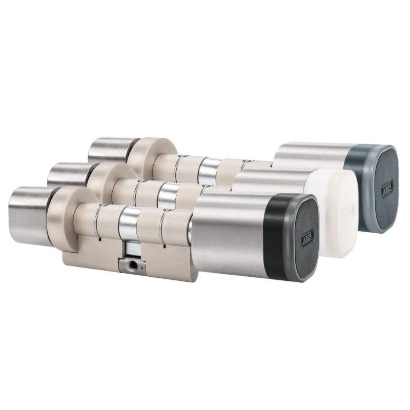 ABUS wAppLoxx PRO Zylinder WLX Pro Doppelknaufzylinder Leser außen Panik