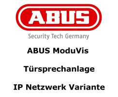 ABUS ModuVis Netzwerk PoE IP Set 2 Video App...