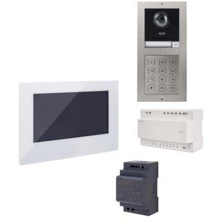 ABUS ModuVis 2-Draht Set 2 Draht Monitor Türsprechanlage Einfamilienhaus