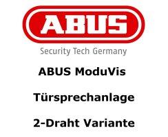 ABUS TVHS20020S Klingeltasten-Modul Edelstahl 6 Tasten...