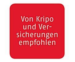 ABUS Feuerschutztür Schutzbeschlag KFG FS eckig schwarz Knauf