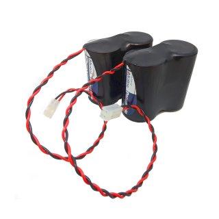 ABUS FU2986 Ersatzbatterie für Secvest Sirene FU8222 FUSG50xxx Funk Außensirene