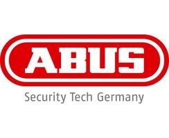 ABUS Panzerriegel PR2600 weiß + EC550 Zylinder 30/100 für eine Türstärke von 80-90mm