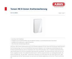 ABUS AZ4130 8-Zonen Drahterweiterung für Terxon MX
