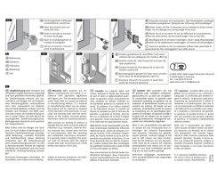 ABUS SW1 B braun Universelle Fenster- und Türsicherung Einbruchschutz