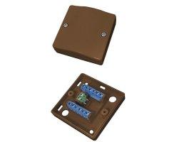 ABUS VT5101B Schraubverteiler Aufputz aP 12-polig braun