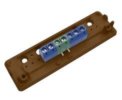ABUS VT5001B Aufputz Schraubverteiler aP 5-polig braun