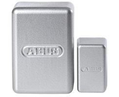 ABUS FUMK50020S Secvest Mini Funk Öffnungsmelder silbern mit Batterie