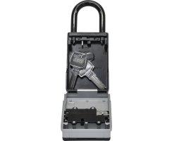 ABUS Mini KeyGarage 737 Schlüsselbox Bügel mobiler Schlüsseltresor Zahlencode