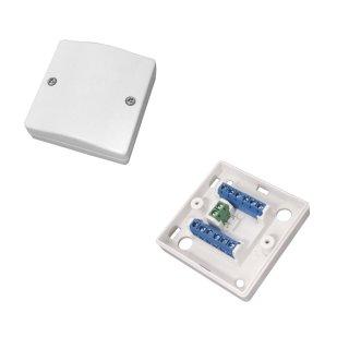ABUS VT5101W Schraubverteiler Aufputz aP 12-polig weiß