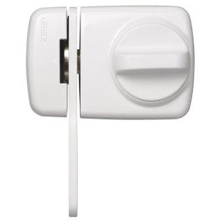 ABUS 7530 W weiß Tür-Zusatzschloss Eingangstür schmales Rahmenprofilen Sperrbügel