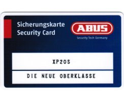 ABUS Türzylinder XP20S verschiedenschließend Not Gefahrenfunktion 35/35 mm Wendeschlüssel