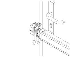 ABUS PSB2700 ER silber Sperrbügel-Set für Panzerriegel PR2700 PR2600 PR2800