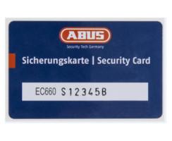 ABUS Doppelzylinder EC660 Not Gefahrenfunktion Wendeschlüssel gleichschließend/ verschiedenschließend Ja, Gleichschließend 50/65 mm