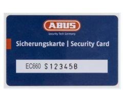 ABUS Halbzylinder EC660 Not Gefahrenfunktion Wendeschlüssel gleichschließend/ verschiedenschließend Nein, Verschiedenschließend 10/60 mm