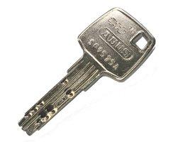 ABUS Knaufzylinder EC660 Not Gefahrenfunktion Wendeschlüssel gleichschließend/ verschiedenschließend Ja, Gleichschließend Z45/K35 mm