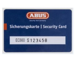ABUS Knaufzylinder EC660 Not Gefahrenfunktion Wendeschlüssel gleichschließend/ verschiedenschließend Ja, Gleichschließend Z100/K30