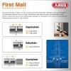ABUS Knaufzylinder EC660 Not Gefahrenfunktion Wendeschlüssel gleichschließend/ verschiedenschließend Ja, Gleichschließend Z55/K50 mm