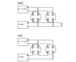 ABUS RM1000 Optischer Rauchmelder drahtgebunden 12V Alarmanlage Brandmeldeanlage