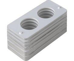 ABUS Kunststoffunterlagen Schließkasten Panzerriegel PR2600 PR2700 PR2800