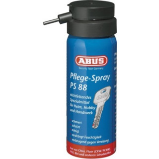 ABUS 50ml Pflegespray PS88  für Türzylinder Autoschlösser
