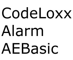 ABUS CodeLoxx Alarm AEB mit Chipschlüsselleser A:40/I:60 mm