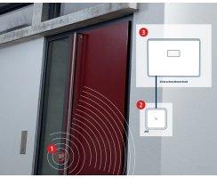 ABUS CodeLoxx Alarm AEB mit Chipschlüsselleser A:45/I:60mm