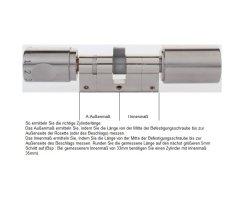 ABUS CodeLoxx Alarm AEB mit Chipschlüsselleser A:55/I:55 mm