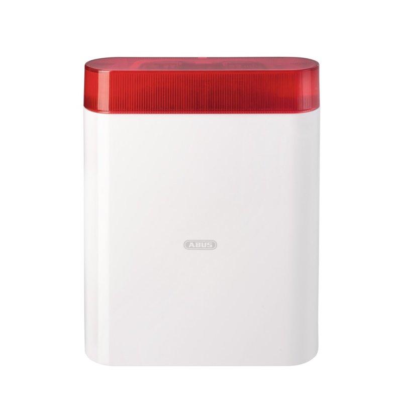 ABUS AZSG10001 Draht-Außensirene rot Alarmsirene für Alarmanlage Sirene Blitz