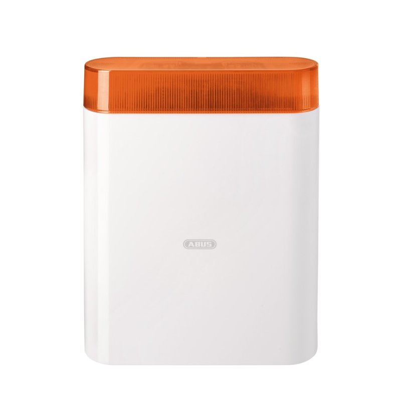 ABUS AZSG10005 Draht-Außensirene orange Alarmsirene für Alarmanlage Sirene Blitz